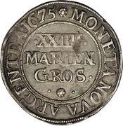 24 Mariengroschen - Johann Adolf – revers
