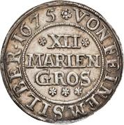 12 Mariengroschen - Johann Adolph – revers