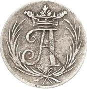 6 Pfennig - Johann Adolph – avers