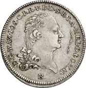 ½ Thaler - Maximilian Joseph IV. – avers