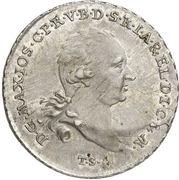 1 Thaler - Maximilian Joseph IV. – avers