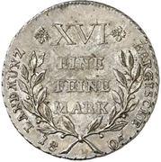 1 Thaler - Maximilian Joseph IV. – revers