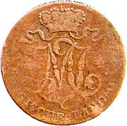 ½ stuber - Maximilian IV Joseph – avers