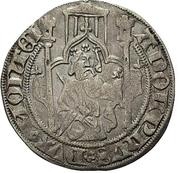 1 Weisspfennig - Adolph IX. – avers