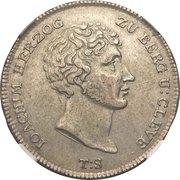 1 Reichsthaler - Joachim Murat – avers