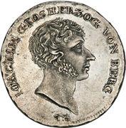 1 Thaler - Joachim Murat – avers