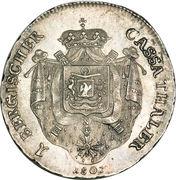 1 Thaler - Joachim Murat – revers