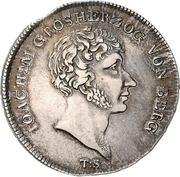 1 Thaler - Joachim Murat (Cassataler) – avers