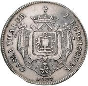 1 Thaler - Joachim Murat (Cassataler) – revers
