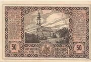 50 Heller (Bergheim) – avers