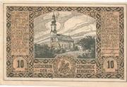 10 Heller (Bergheim) – avers
