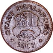 10 pfennig - Berleburg – avers