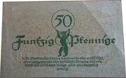50 PFENNIGE  ( Berlin ) – revers