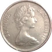 10 Cents - Elizabeth II (2eme effigie) -  avers