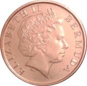 1 cent Elizabeth II (4e portrait; non-magnetique) – avers