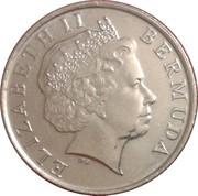 25 cents - Elizabeth II (4eme effigie) -  avers