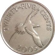 25 cents - Elizabeth II (4eme effigie) -  revers