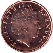 1 cent - Elizabeth II (4eme effigie) – avers