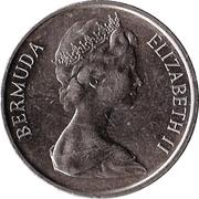 5 Cents - Elizabeth II (2eme effigie) -  avers