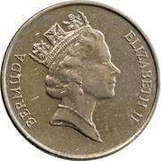 25 cents - Elizabeth II (3eme effigie) -  avers