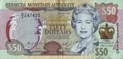 50 Dollars - 50 Years Since Queen Elizabeth II's Coronation – avers