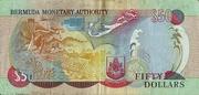 50 Dollars - 50 Years Since Queen Elizabeth II's Coronation – revers