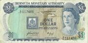 1 Dollar 1976 – avers