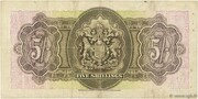 5 Shillings – revers
