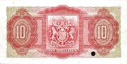 10 Shillings (George VI) – revers
