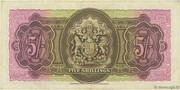 5 Shillings (George VI) – revers