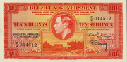10 Shillings (George VI) – avers