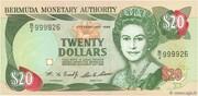20 Dollars (Elizabeth II) -  avers