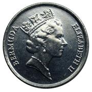 10 Cents - Elizabeth II (3eme effigie) -  avers