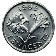 10 Cents - Elizabeth II (3eme effigie) -  revers