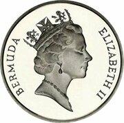 5 cents - Elizabeth II (Argent) – avers