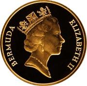 1 cent - Elizabeth II (Or) – avers