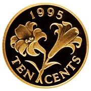 10 Cents - Elizabeth II – revers