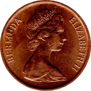 1 Cent - Elizabeth II (2eme effigie) – avers