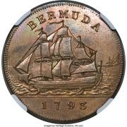 1 Penny - George III – revers