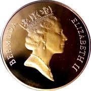 1 Dollar - Elizabeth II (Jeux olmypiques 1992) – avers