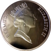 5 Dollars - Elizabeth II (Silver Proof) – avers