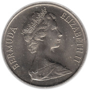25 cents - Elizabeth II (2eme effigie) -  avers