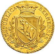 4 ducat – avers
