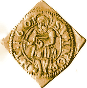 ½ Goldgulden (Klippe) – revers