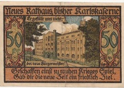 50 Pfennig (Bernburg) – revers