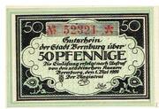 50 Pfennige – avers