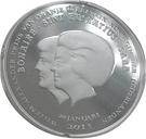 1 Dollar Abdication de la reine Beatrix – avers