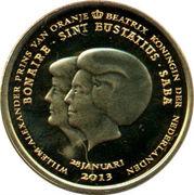 1 dollar Abdication de la reine Beatrix – avers