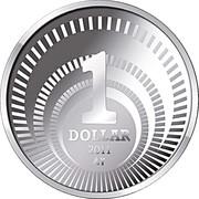 1 dollar Introduction du dollar (argent) – revers