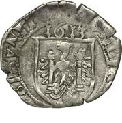 Carolus (type 3 : au buste à gauche avec CAROLVS QVINTVS) - Philippe II, puis Albert et Isabelle – revers